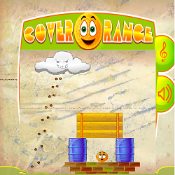 Cover Orange (Gravity Based Logical Thinking Game)