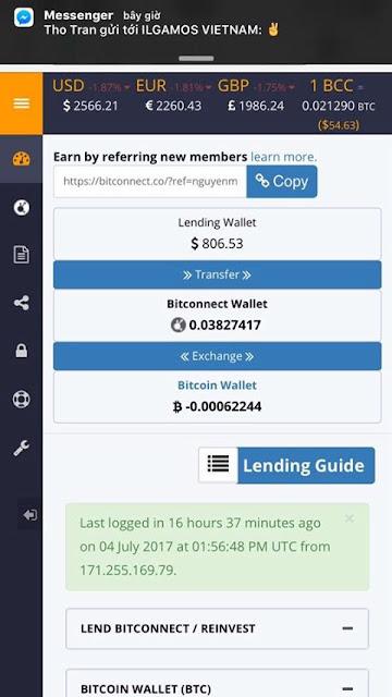 Bitconnect là gì? Có nên đầu tư kiếm tiền với Bitconnect?