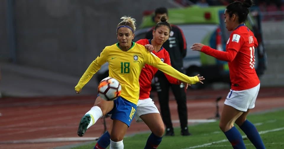 Copa América de Futebol Feminino 2018 - Dia 11  95ea7972c9e37