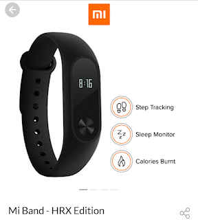 xiaomi xrs edition fitness band