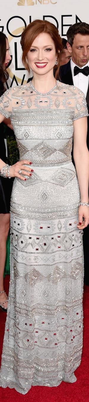 Ellie Kemper 2015 Golden Globes