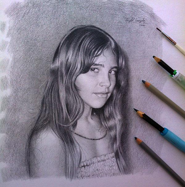 Anyelo Gonzalez Realismo Drawing Dibujo