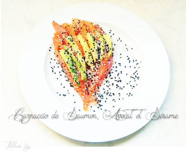 Recipe-recette-carpaccio-saumon-avocat-sesame