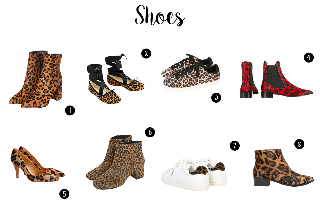 Elizabeth l Leopard trend selection shopping tendance l THEDEETSONE l http://thedeetsone.blogspot.fr