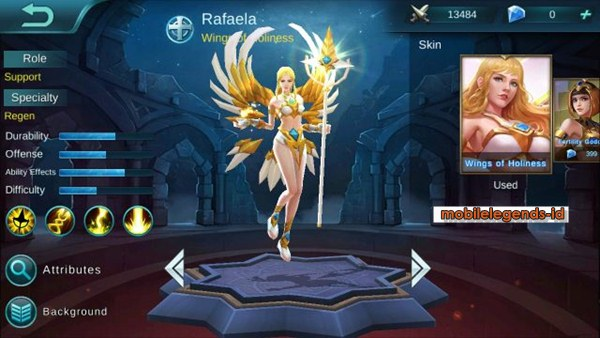 Hero Support Mobile Legends : Rafaela