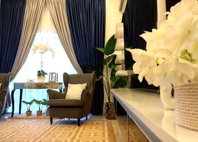 ruang tamu di hias persis hotel.cantik sangat - info online