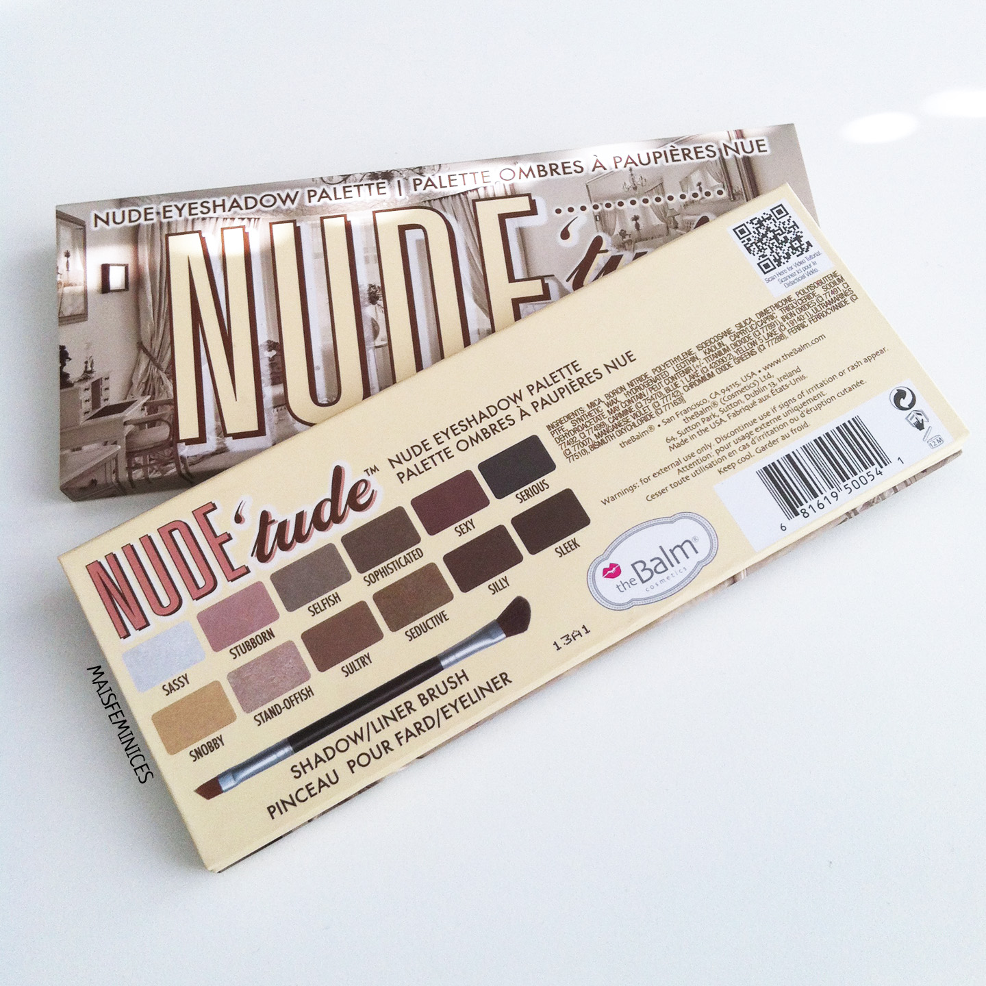Mais Feminices Testei The Balm Nudetude Palette-4014
