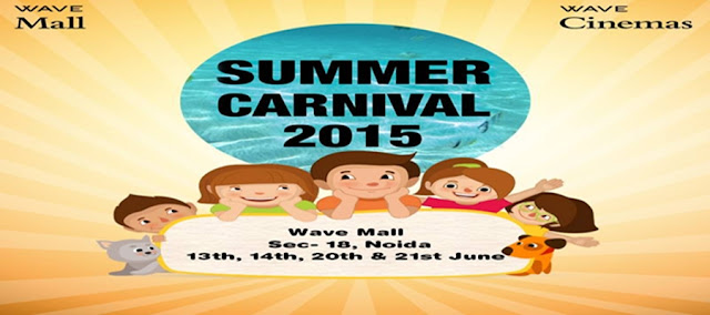 Summer Carnival at Wave Mall, Noida