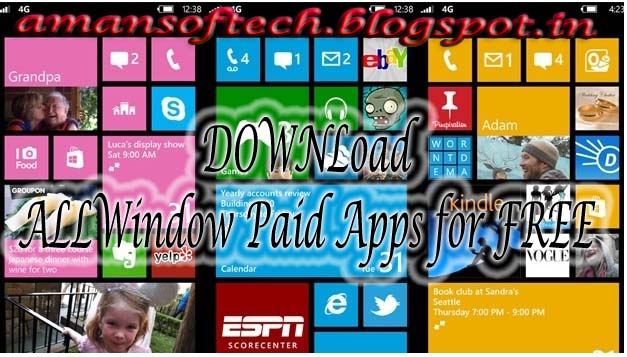 Get paid apps for free in Windows Phone[amansoftech] | AMaN