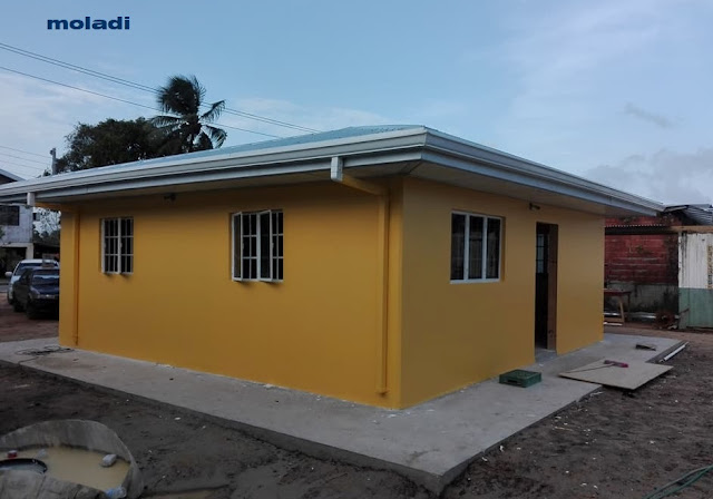 moladi model home Low cost housing in Trinidad and Tobago