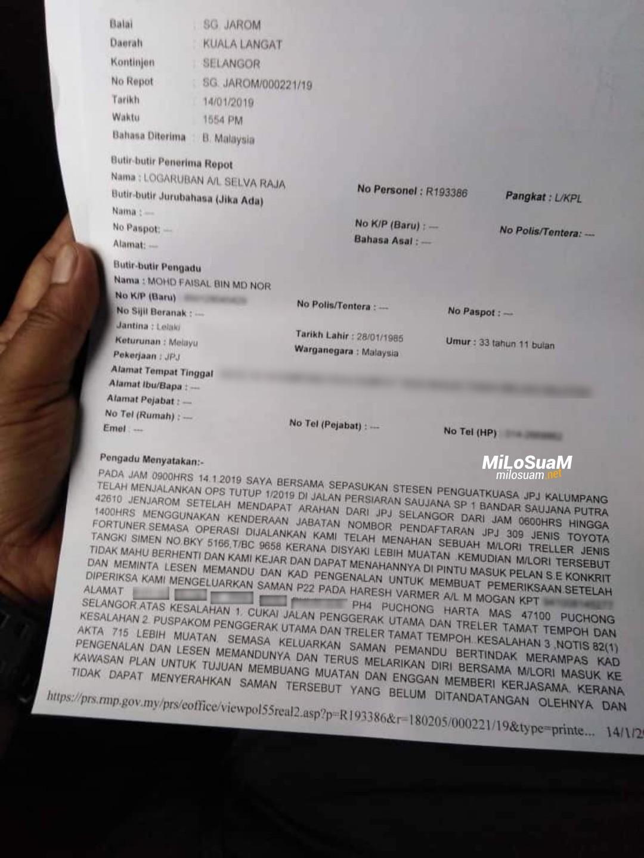 JPJ dituduh minta RM400