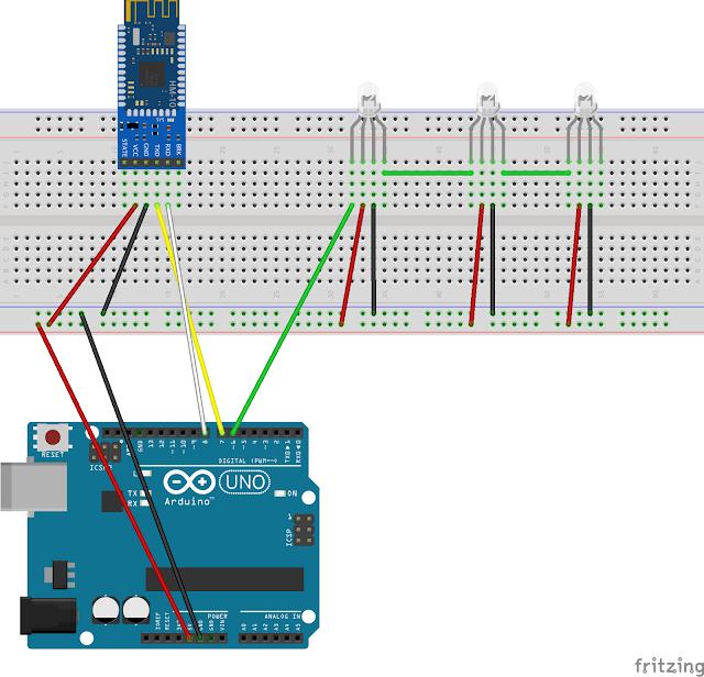 Arduino Bluetooth Basic Tutorial - Hacksterio