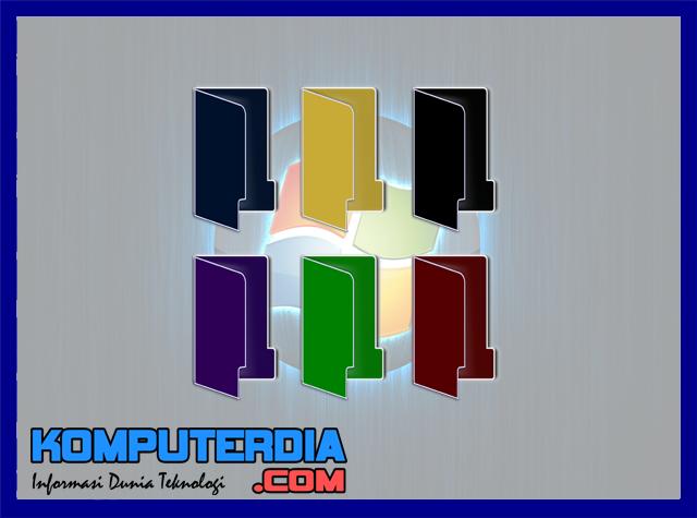 Cara Mudah Merubah Warna Folder Pada Sistem Operasi Windows