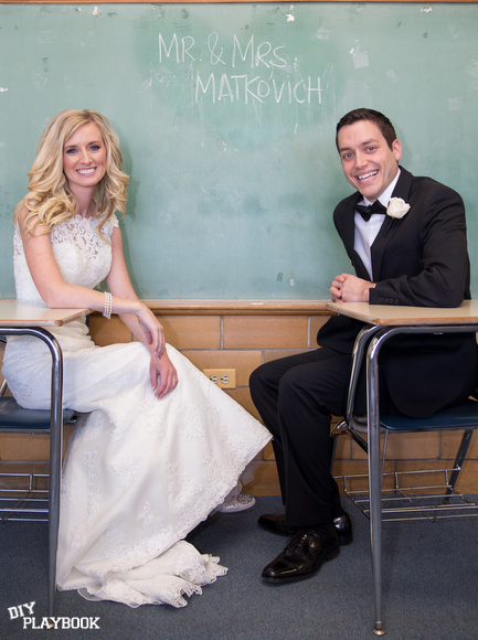 teacher wedding