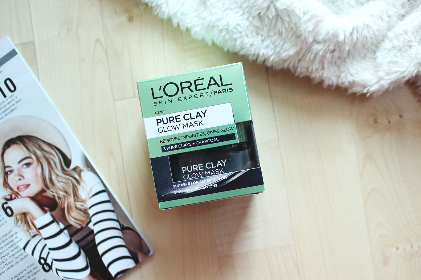 L'oreal - Pure Clay Glow Mask