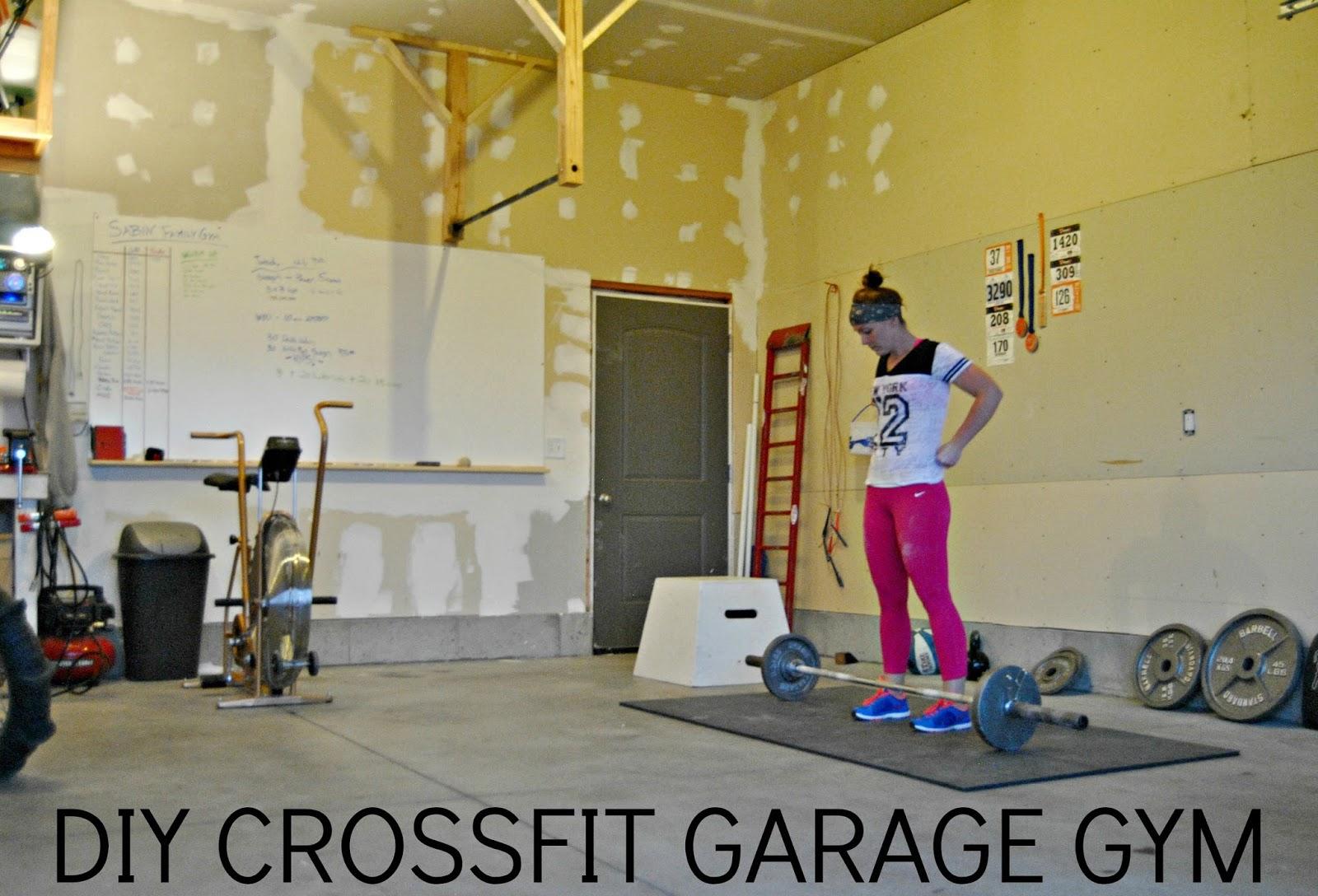 DIY CROSSFIT GARAGE GYM: part 1