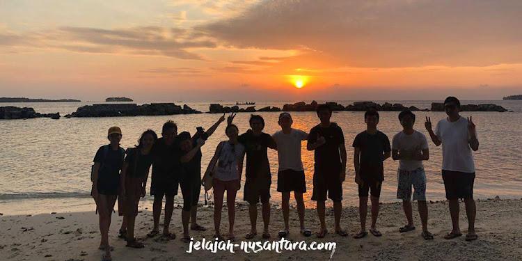 paket open trip pulau harapan murah 2 hari 1 malam