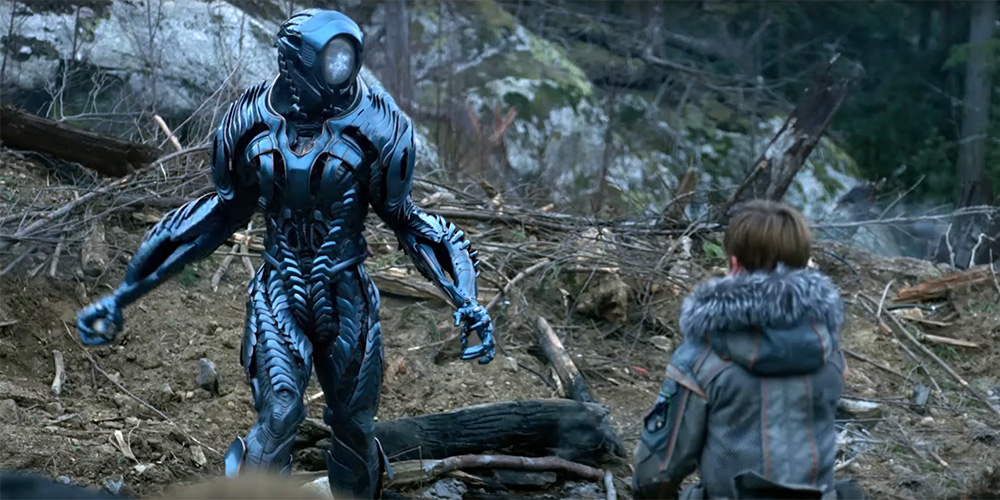 MUSINGS OF A SCI-FI FANATIC: Lost In Space S1 E1: Impact