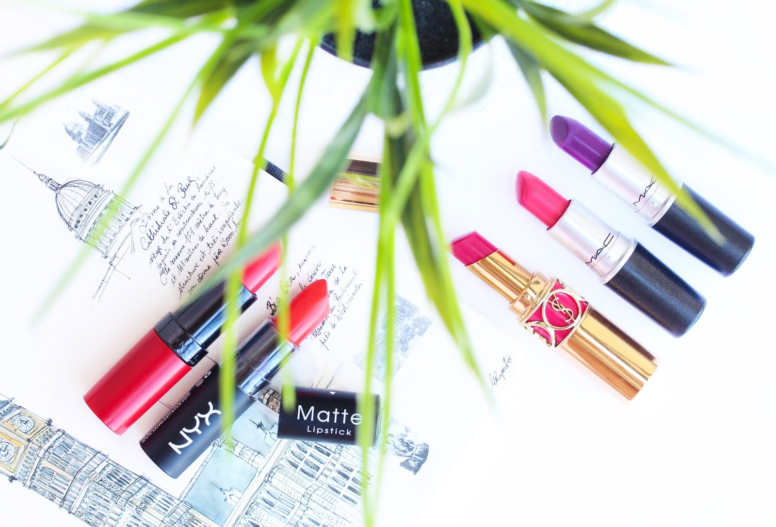 Top 5 Summer Lipsticks