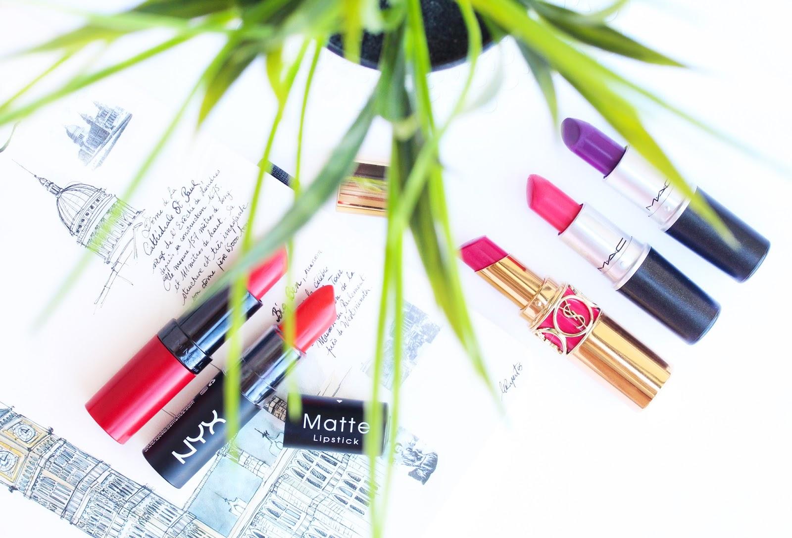 Top 5 Summer Lipsticks