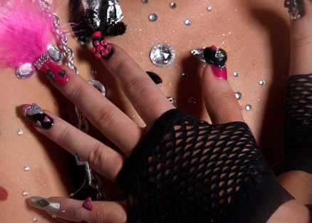 myfantasticnails the nails of lady gaga