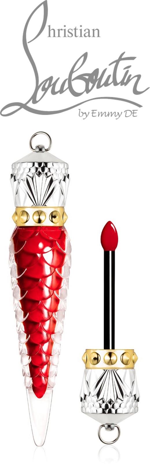 Brilliant Luxury ♦ Christian Louboutin Lips Loubilaque Rouge Louboutin Lip Lacquer