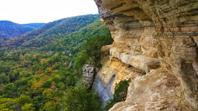 Goat Trail on Big Bluff on the Buffalo River