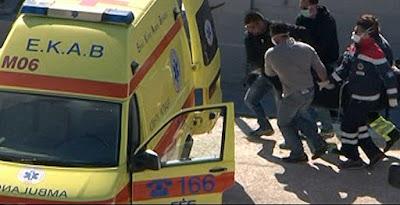 Τροχαίο ατύχημα με τραυματισμούς 23χρονου και 22χρονου στην Ηγουμενίτσα