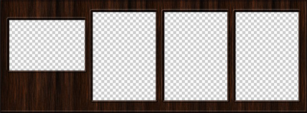 Free Wood Facebook Cover Automated PSD Templates 2