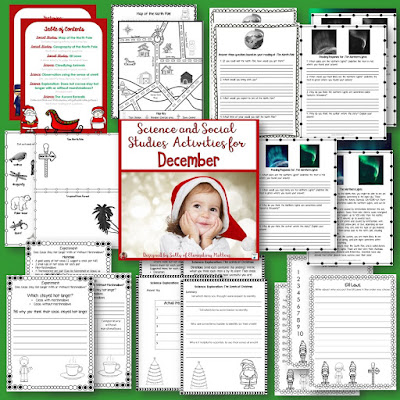 Wondering what will keep them engaged the last week before Christmas? Here are some ideas and resources that will keep even the most rambunctious children engaged!