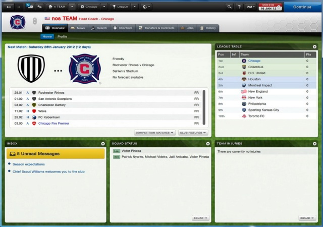 Football Manager 2013 PC Games Screenshots