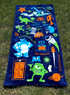 disney pixar kohl's beach towel
