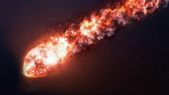 O Terceiro maior meteoro