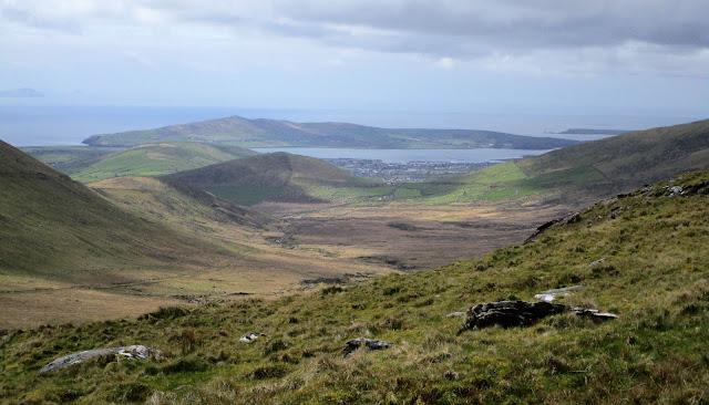 Vihreät nummet, Dingle, kaunis maisema, Kerry