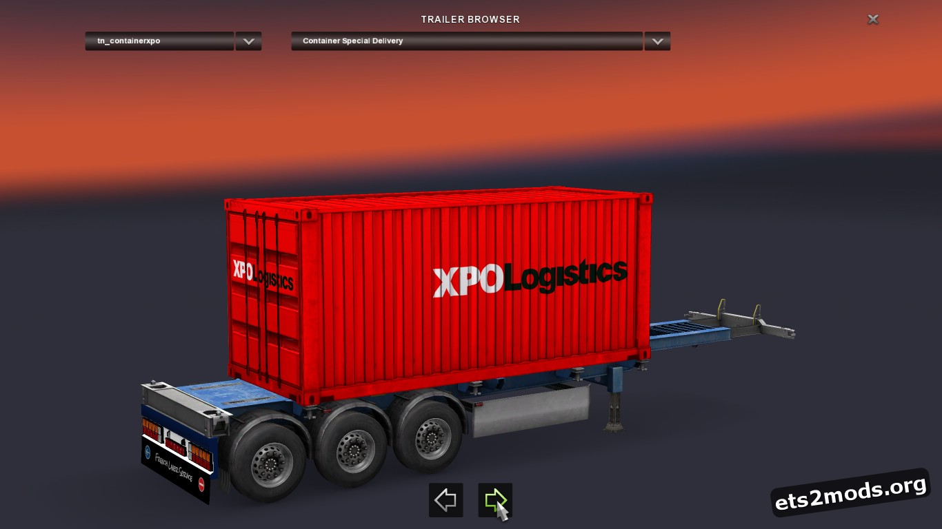 XPO Logistics Trailers Pack