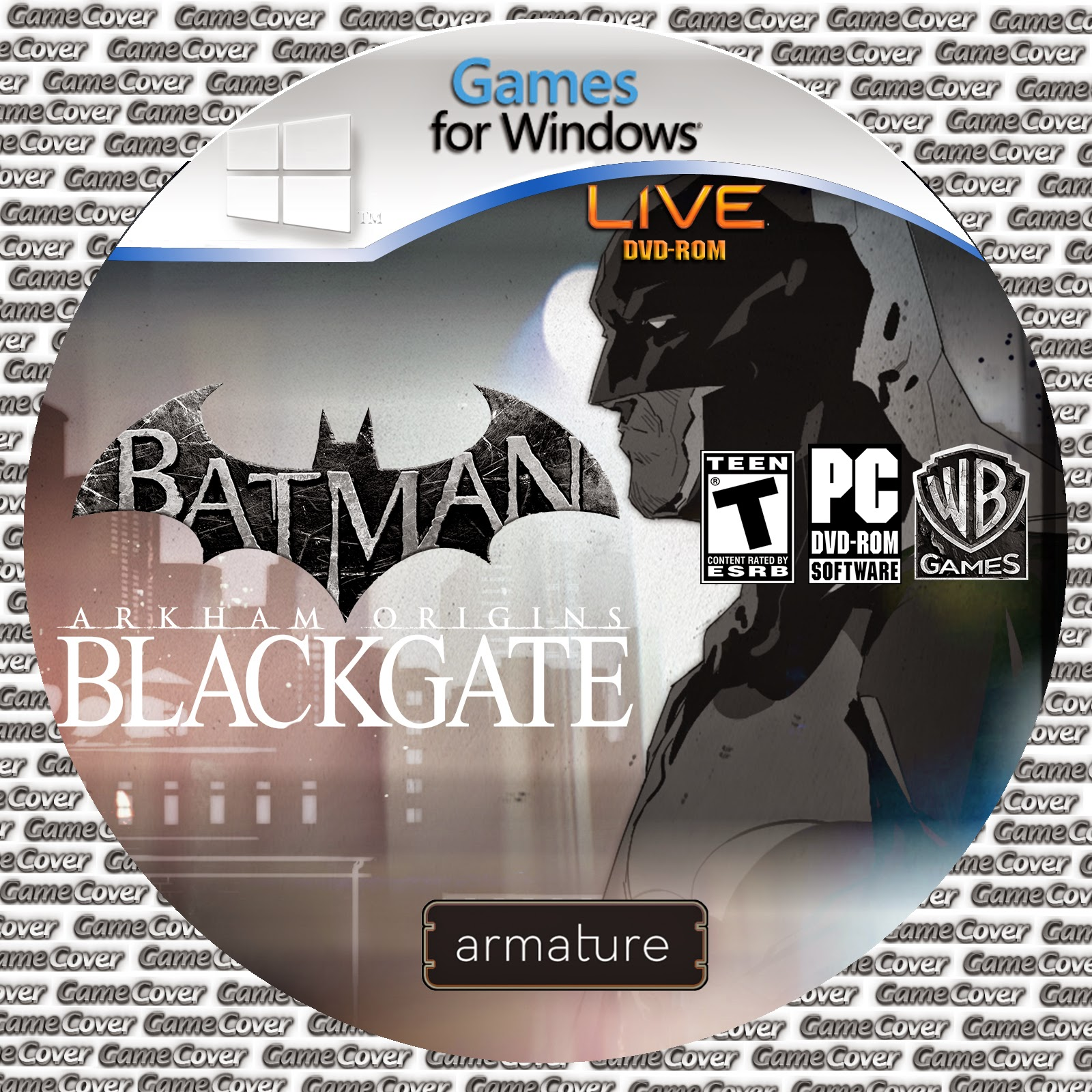 Label Batman Arkham Origins Blackgate PC [Exclusiva]