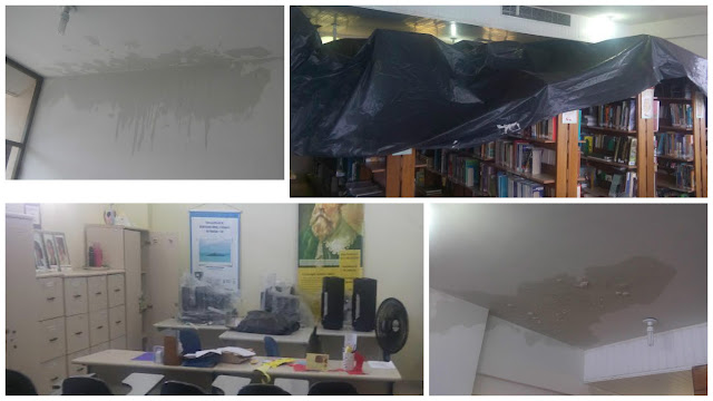 Professor Jorge Portugal, olha a situação da Biblioteca do Rio Vermelho!