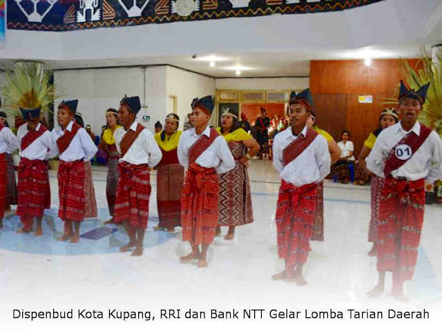 Dispenbud Kota Kupang, RRI dan Bank NTT Gelar Lomba Tarian Daerah