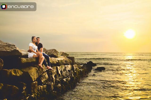 fotos novios playas peru