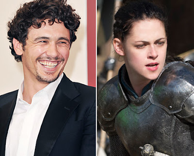 James-Franco-Kristen Stewart-Is-a-Warrior Queen
