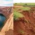 As mudanças na paisagem causadas pela erosão