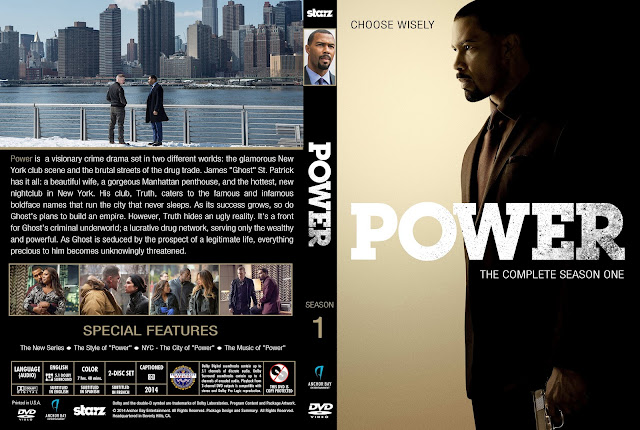 Capa DVD Power Primeira Temporada Completa