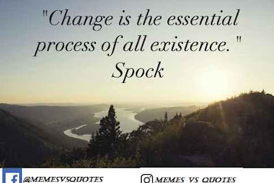 Change is the essential