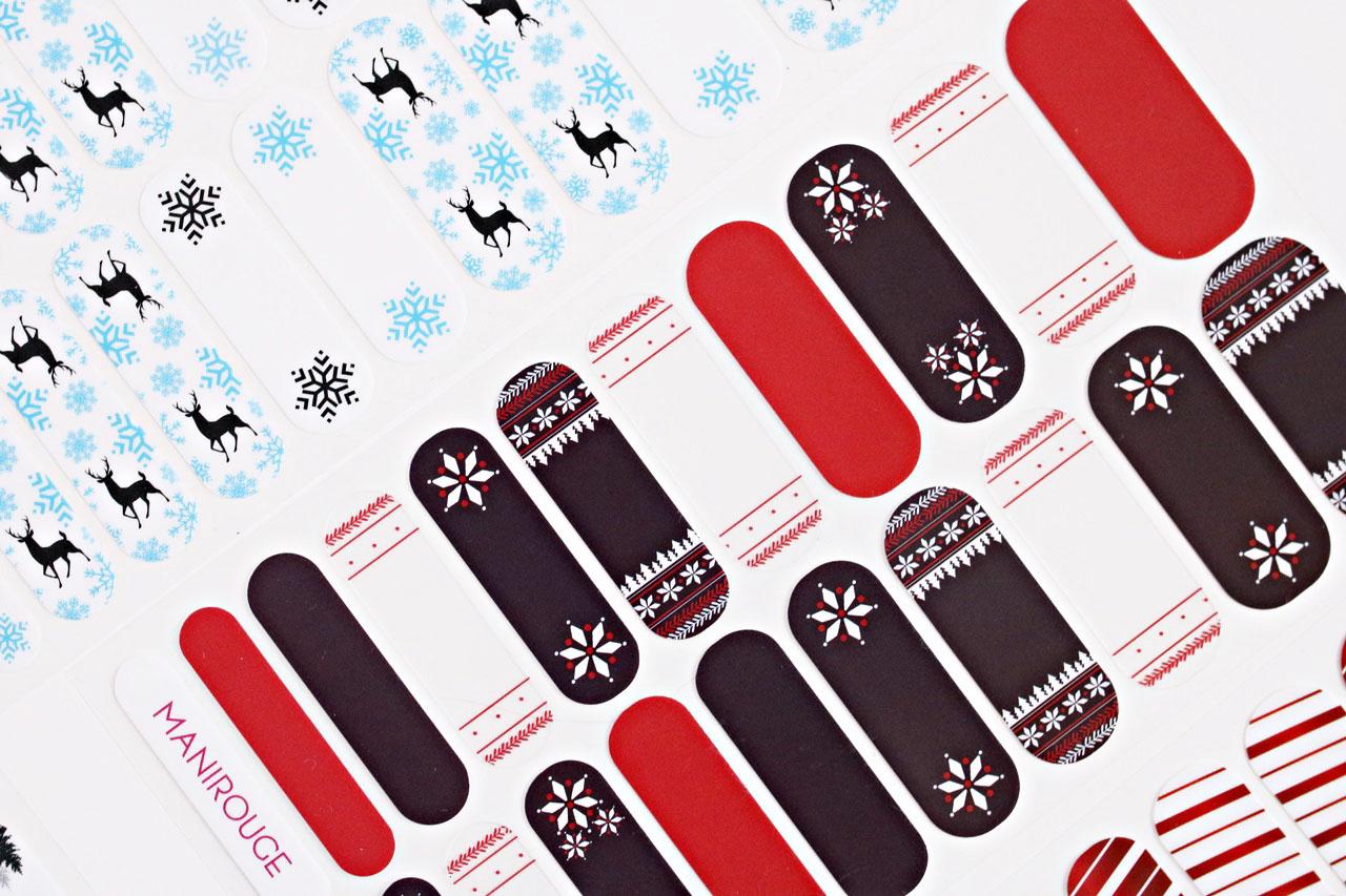Maniorouge - l'ambiance Noel - naklejki termiczne