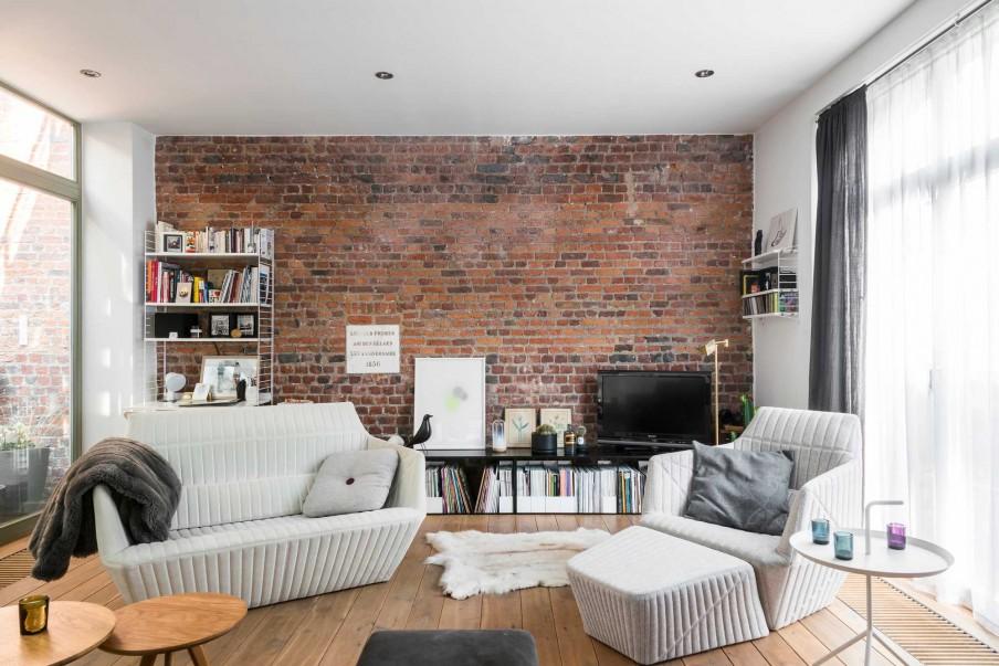 Un loft dallo stile newyorkese a bruxelles for Appartamento stile newyorkese