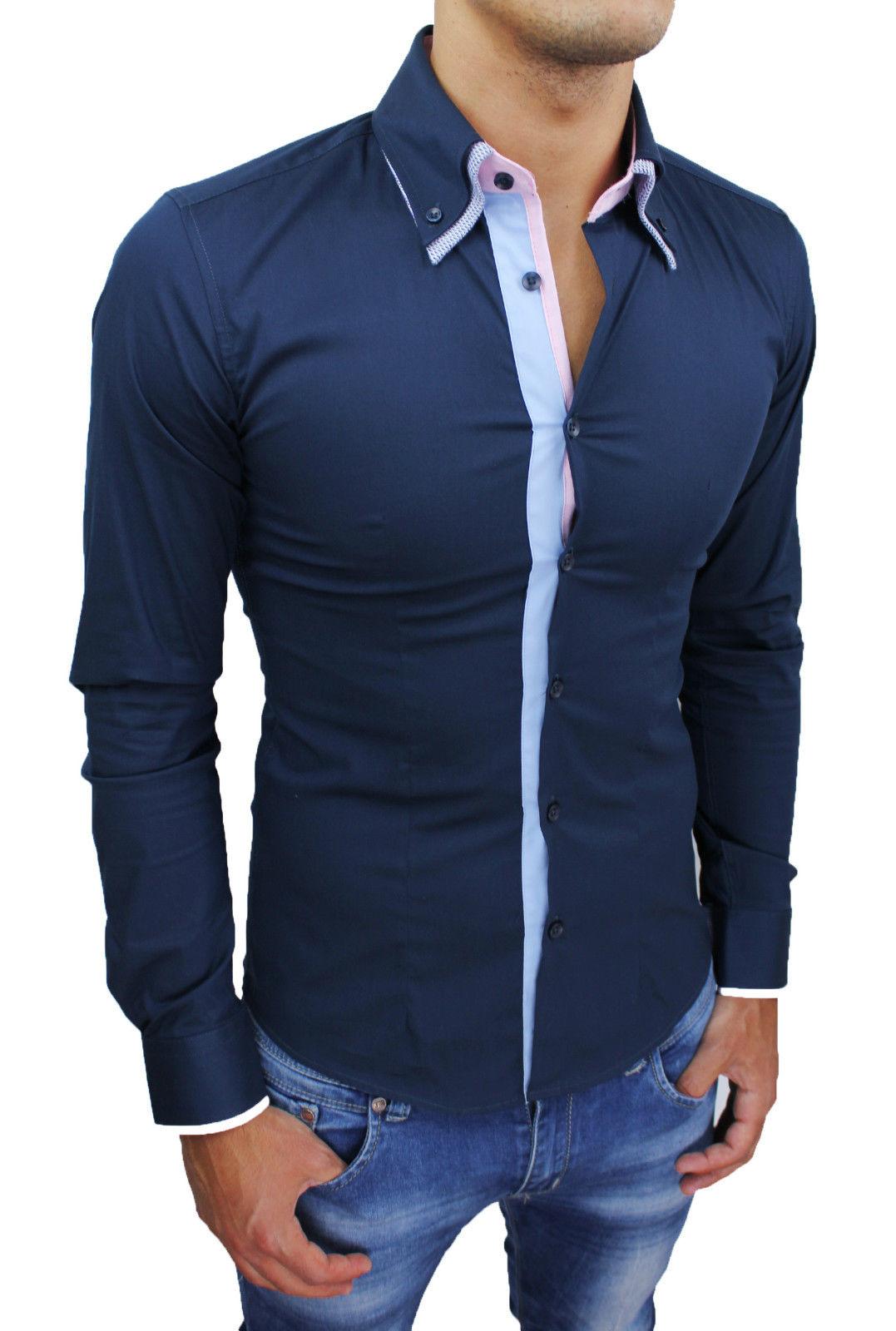 REGNO Unito da donna con apertura sulla spalla Tartan a maniche lunghe Check Camicia