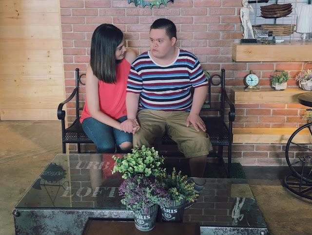 SIBLING GOALS: Vickie and Kian Rushton