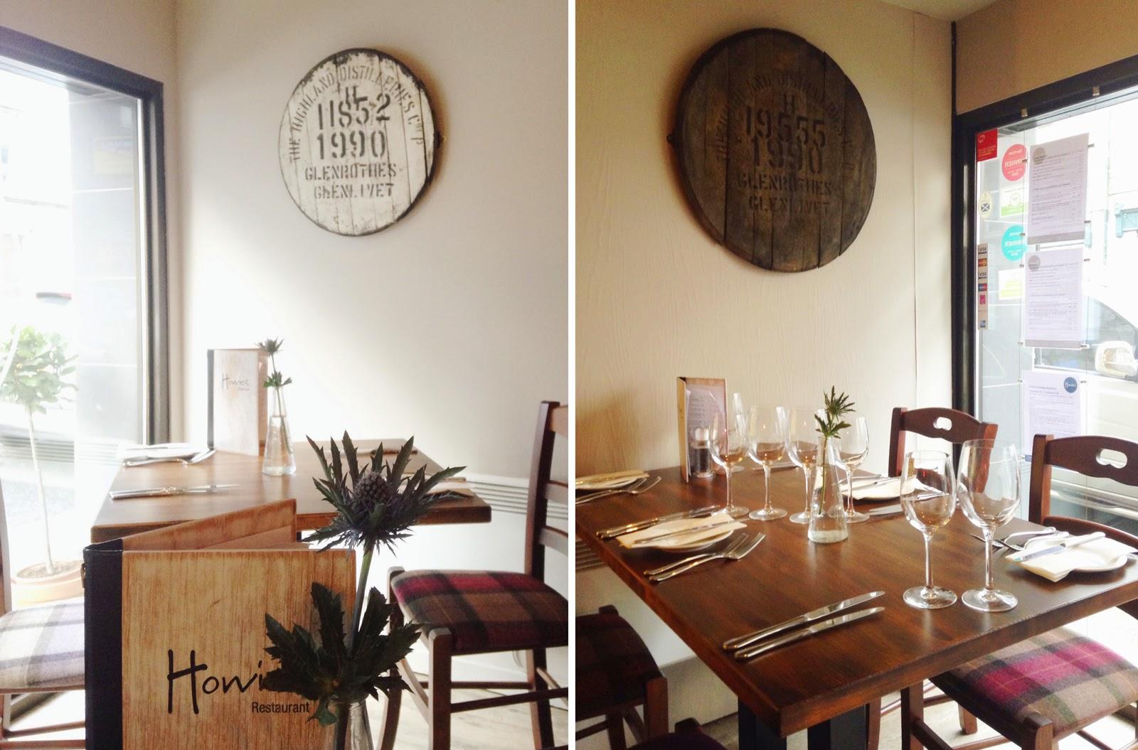 Howies restaurant Aberdeen