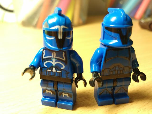 Фигурки клона и стражника сената лего звездные войны