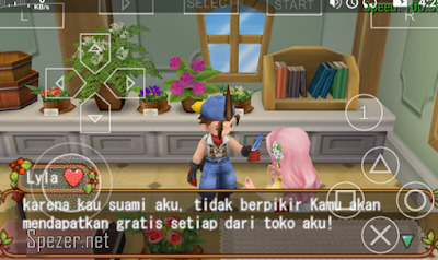Bermain game PSP di Android